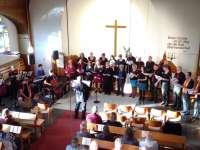 Gesangskreis beim Kirchentag 2017